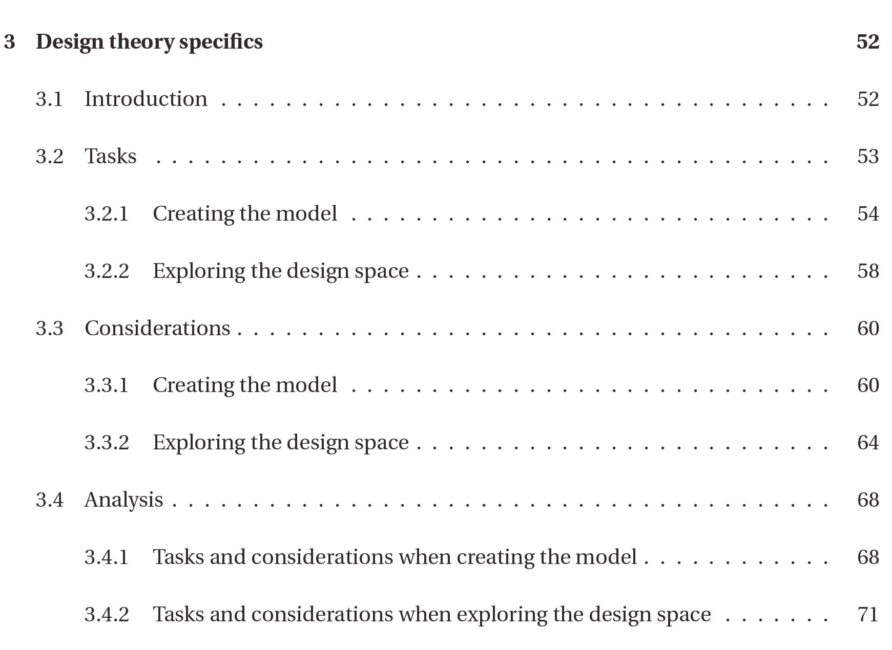 Design section psychology dissertation
