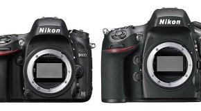 Confronto Nikon D600 vs Nikon D800