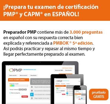 ¡Prepara tu examen de certificación PMP® y CAPM® en ESPAÑOL!