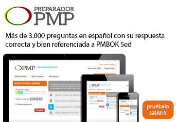 Preparador PMP - Más de 3000 preguntas en español con su respuesta correcta y bien referenciada a PMBOK 5ed