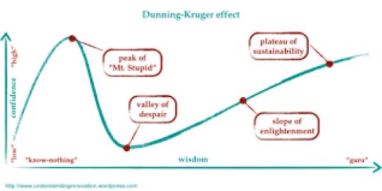 efecto Dunning-Kruger_Daniel Echeverría
