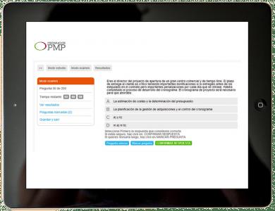 Simulador PMP en español. Certificación PMP