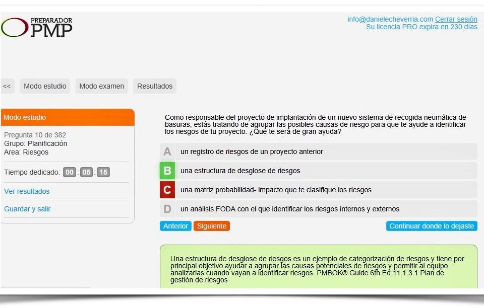 Conocimientos Certificaciones PMP y CAPM del PMI