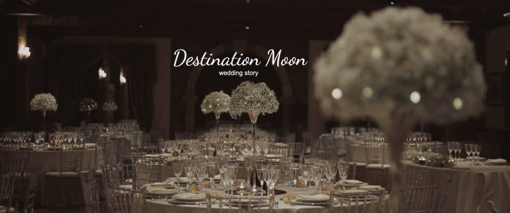 destination moon wedding story