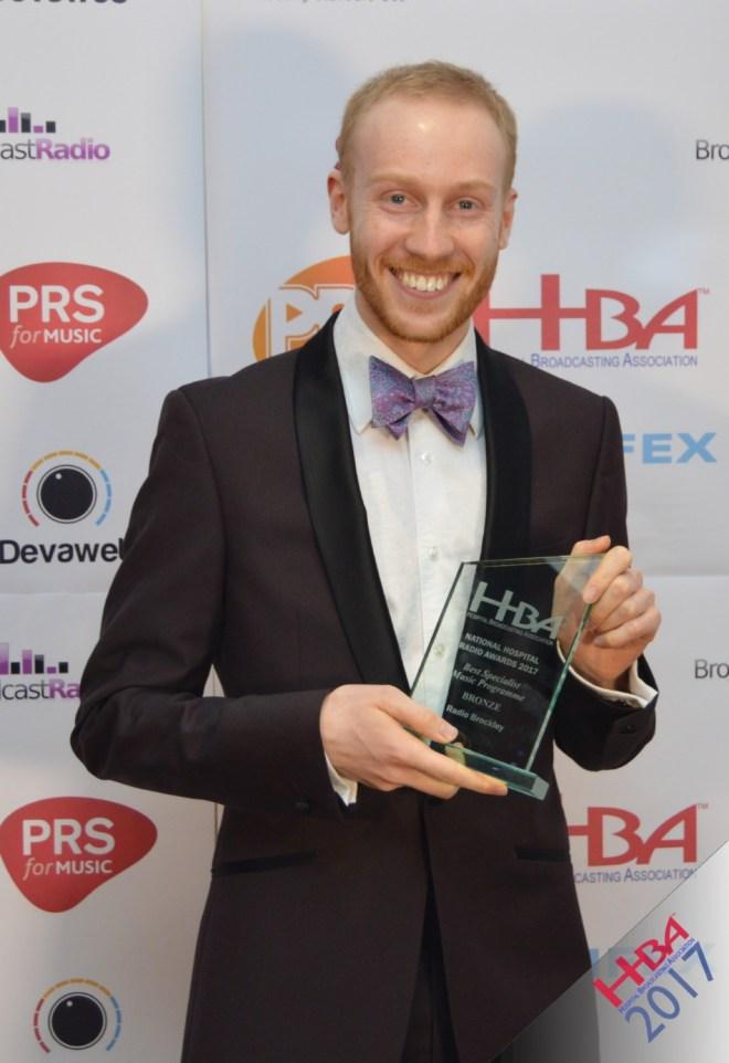 Daniel Edward HBA Radio Award