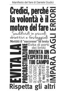 Manifesto del Fare di Daniele Giudici