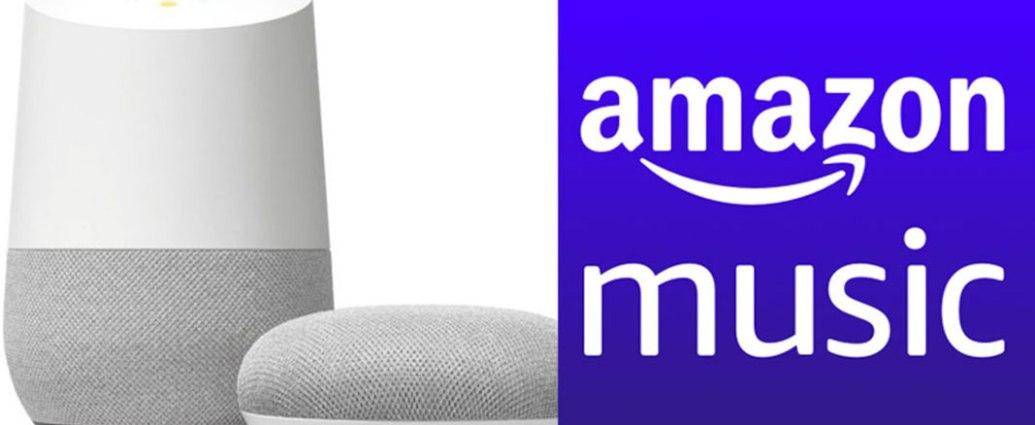 Ascoltare Amazon Music con Chromecast