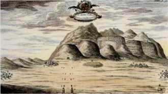 Veduta della sponda occidentale di Pococke, 1738