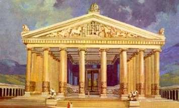 Ricostruzione dell'Artemision di Efeso