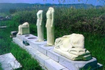 Korai rinvenute presso l'Heraion di Samo