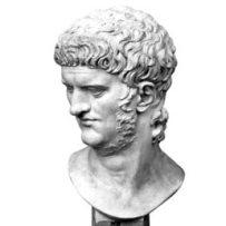 Testa di Nerone conservata presso i Musei Capitolini