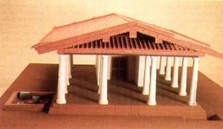 Ricostruzione del Tempio B di Pyrgi