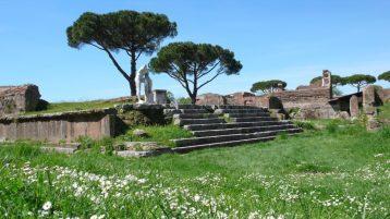 Resti del Tempio di Ercole a Ostia