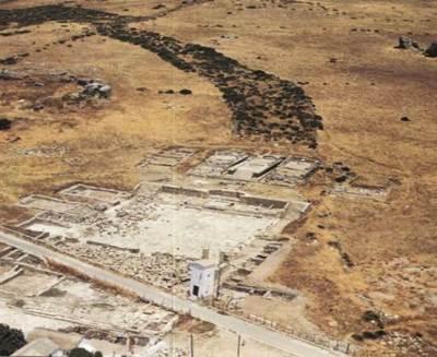 Il sito di Baelo Claudia con i tre templi