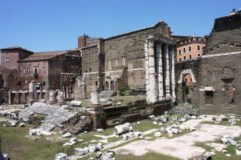 Il Tempio di Marte Ultore nel Foro di Augusto
