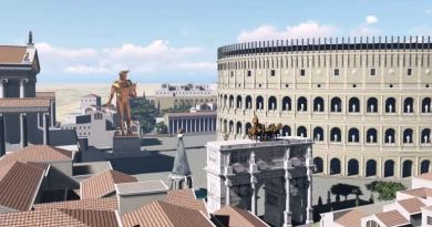 ROMA IN 3D NEL 320 D.C.