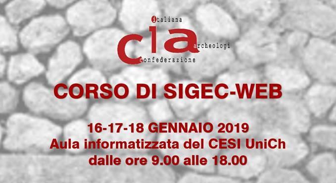 CORSO DI SIGEC-WEB A CHIETI