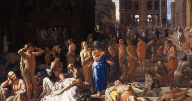 Michael Sweerts 1652 peste Atene