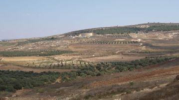 La valle tra Nazareth e Sèpphoris