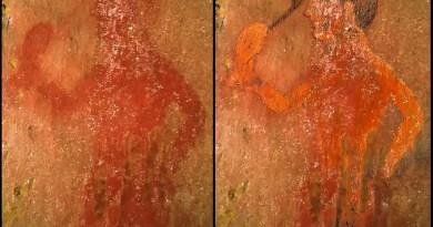 dipinti funerari tomba della scimmia