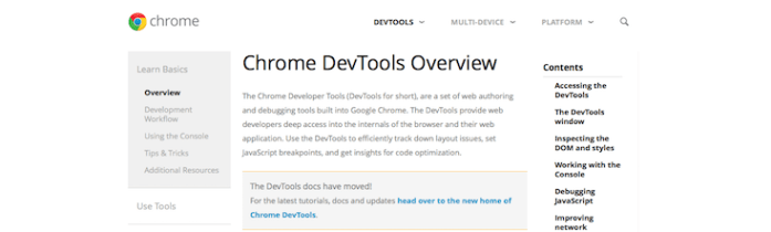 chrome-dev-tools