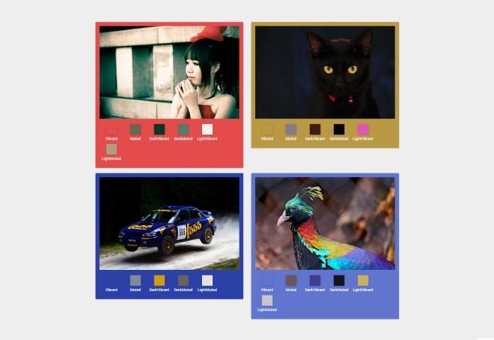 Vibrant.js: Prominent Image Colors JavaScript Extractor