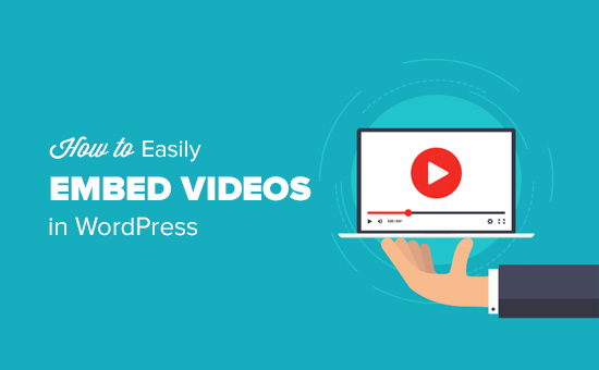 How to easily embed videos in WordPress