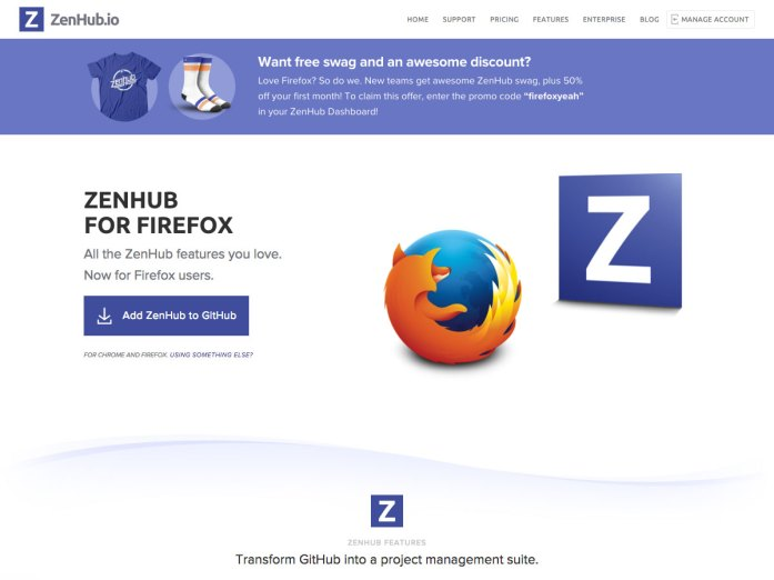 zenhub for firefox