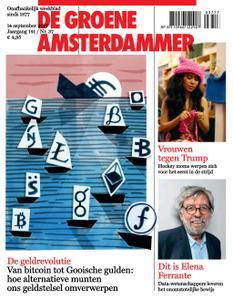 De Groene Amsterdammer - 14 september 2017