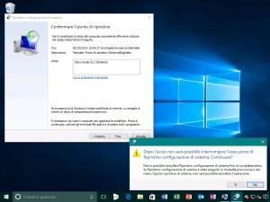Ripristino di sistema windows