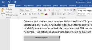 Eliminiamo interruzione di pagina Word su Mac e Windows