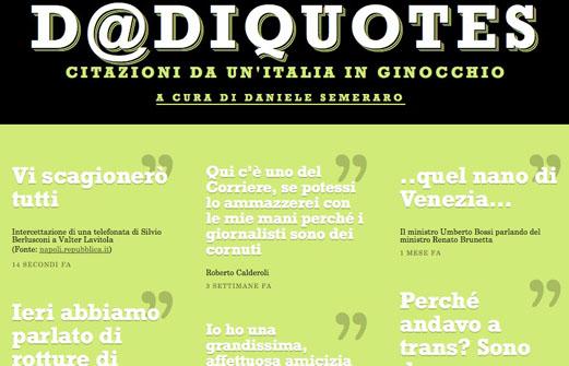 Vi presento D@diquotes