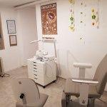 Behandlungsraum mit Blick zum Behandler