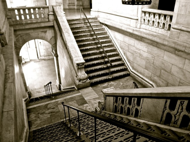 NYPL Stairs
