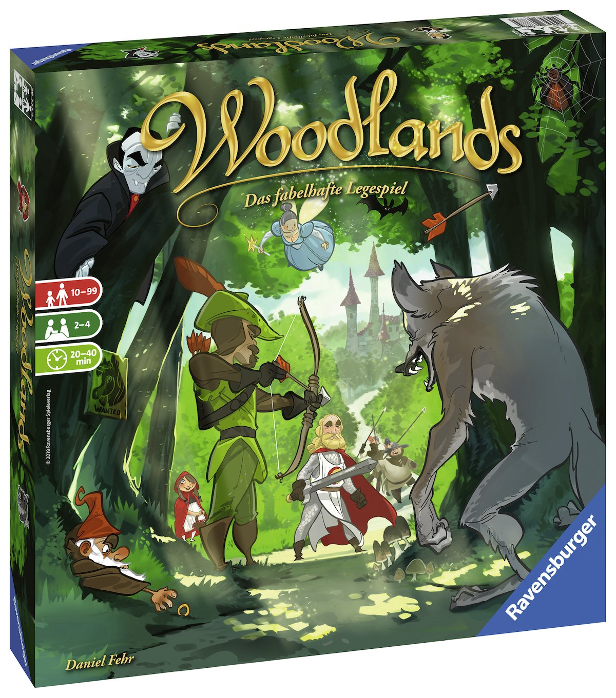 Woodlands, Legespiel von Daniel Fehr