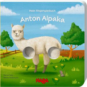 Anton Alpaka, Fingerspielbuch von Daniel Fehr