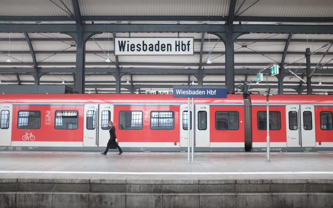 Onward from Wiesbaden, with a stop in Ibbenbüren