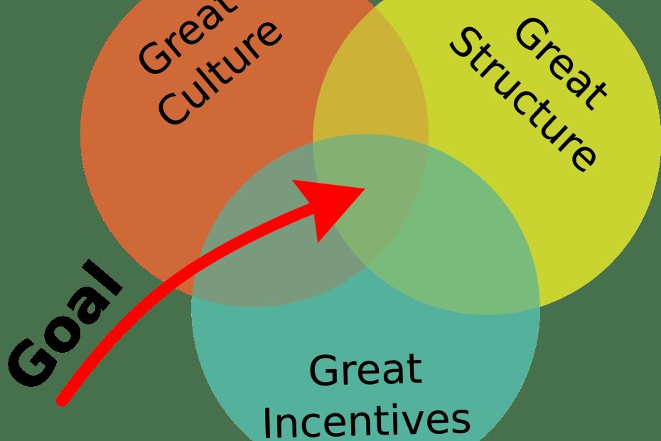 Culture, structure, incenvites