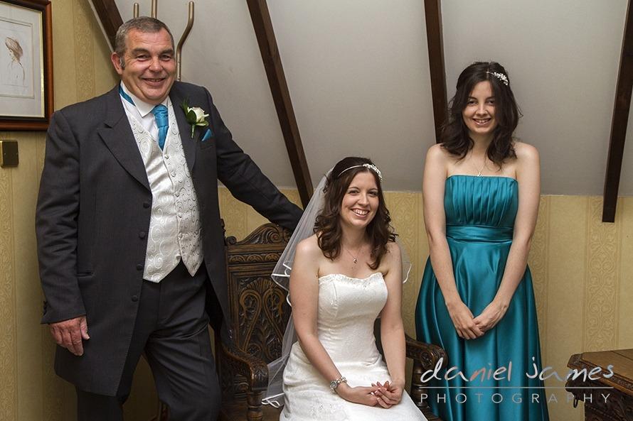Worcestershire Wedding  Sarah  Richard  Stone Manor Hotel  Daniel James Photography