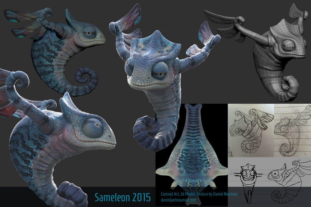 3D Modeling  Daniel Joel Newman