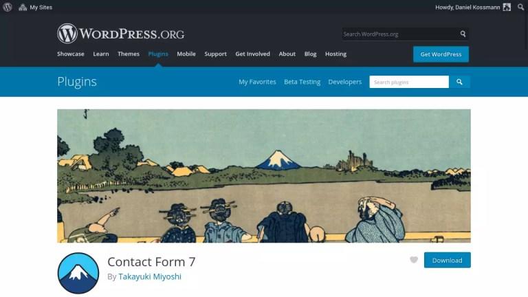 Dicas para o plugin Contact Form 7 (CF7) no WordPress