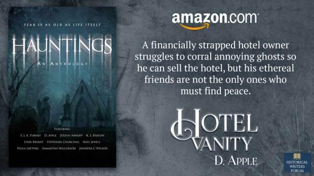 Hotel Vanity as seen in Hauntings
