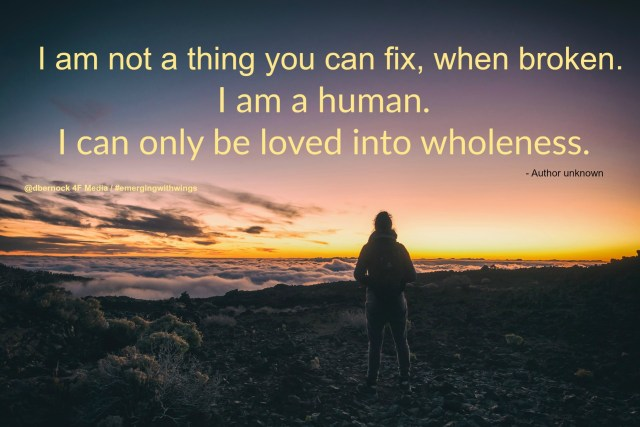 loved wholeness quote