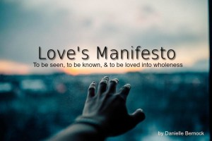 loves manifesto cover