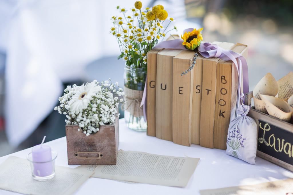Guestbook Matrimonio Girasoli : Guestbook libro firme matrimonio in stile tema mare estate