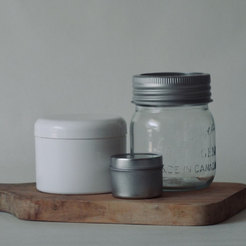 Containers for DIY lotion making