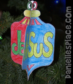 Printable Christmas Ornament Crafts