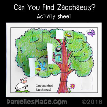 Find Zacchaeaus Tree Pic on Ford F 150 Radio Wiring Coloring