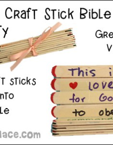 Folding craft stick bible verse activity for vbs this is  great children also vacation school crafts and activities rh daniellesplace
