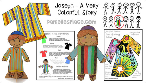 Free Sunday School Lesson for Children -Joseph - A Very ...